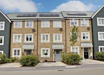 Thumbnail 4 bed town house for sale in Rana Drive, Church Crookham, Fleet