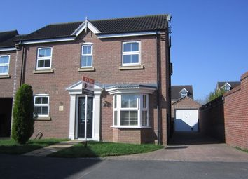 Thumbnail 4 bed detached house to rent in Barn Owl Way, Washingborough, Lincoln
