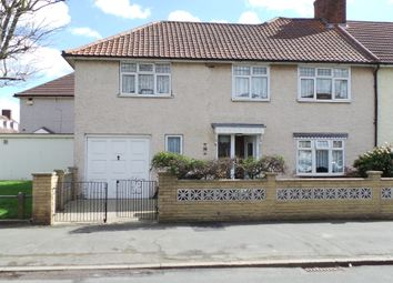 Thumbnail 4 bedroom end terrace house for sale in Monmouth Road, Dagenham, Essex.