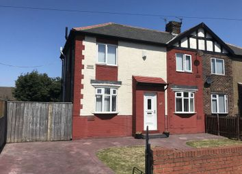 Thumbnail 3 bed semi-detached house for sale in Hadrian Road, Jarrow