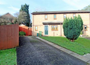 Thumbnail 2 bedroom semi-detached house for sale in Sgubor Goch, Llanharry, Pontyclun, Rhondda, Cynon, Taff.