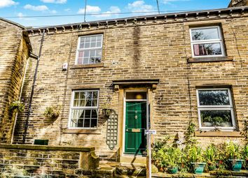 Thumbnail 3 bed terraced house for sale in Riding Head Lane, Luddenden, Halifax