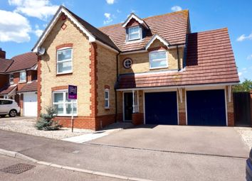 Thumbnail 5 bed detached house for sale in Grant Road, Rochester