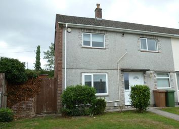 Thumbnail 3 bed end terrace house to rent in Clittaford Road, Southway, Plymouth