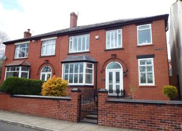 Thumbnail 4 bedroom semi-detached house for sale in Station Road, Kearsley, Bolton, Greater Manchester