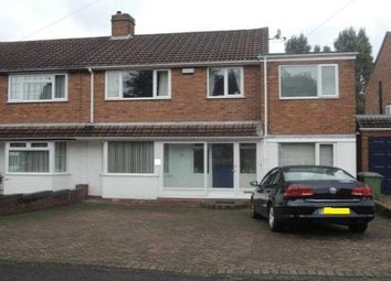 Thumbnail 4 bed property to rent in Hazelwood Road, Streetly, Sutton Coldfield