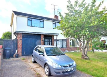 Thumbnail 3 bed semi-detached house for sale in Chelmer Drive, Dunmow