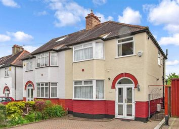 Thumbnail 3 bed semi-detached house for sale in Glenthorne Gardens, Sutton, Surrey