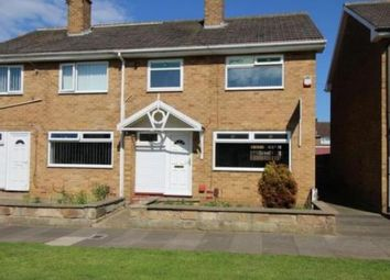 Thumbnail 3 bed semi-detached house to rent in Fosdyke Green, Middlesbrough, North Yorkshire