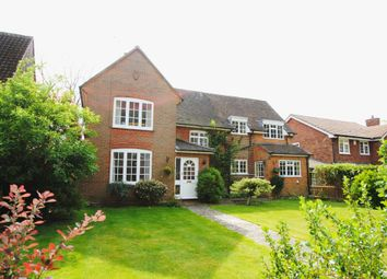 Thumbnail 4 bed detached house for sale in Glebe Lane, Hartley Wintney, Hook