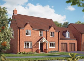"Thumbnail 4 bed detached house for sale in ""The Upton"" at Drake Street, Welland, Malvern"