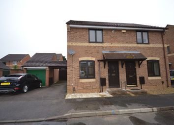Thumbnail 2 bed semi-detached house to rent in Oransay Close, Great Billing, Northampton