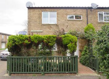 Thumbnail 3 bed end terrace house for sale in Clipston Walk, Ravensthorpe, Peterborough