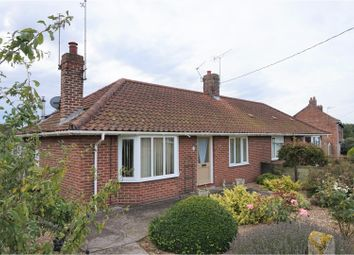Thumbnail 2 bed semi-detached bungalow for sale in Station Road, Pulham St. Mary, Diss