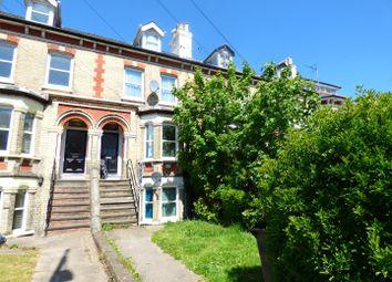 Thumbnail 2 bedroom maisonette for sale in Folkestone Road, Dover