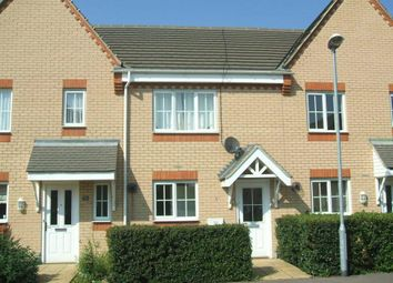 Thumbnail 2 bed terraced house to rent in Brunel Drive, Biggleswade
