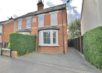 Thumbnail 4 bed semi-detached house for sale in Clarence Street, Egham, Surrey