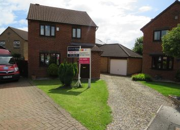 Thumbnail 3 bed detached house for sale in Sandhall Close, Billingham