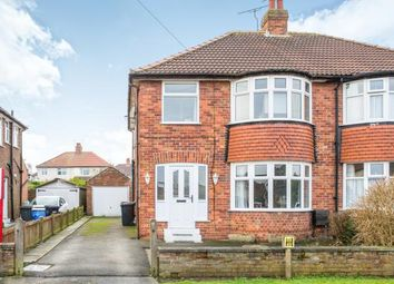 Thumbnail 3 bed semi-detached house for sale in Derwent Road, Harrogate, North Yorkshire