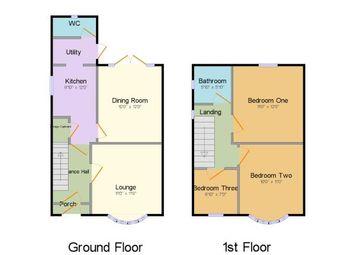 Thumbnail 3 bed semi-detached house for sale in Marina Drive, Wolverton, Milton Keynes, Buckinghamshire
