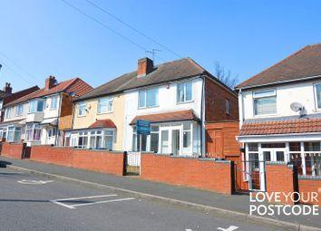Thumbnail 3 bed semi-detached house to rent in Regent Road, Handsworth, Birmingham