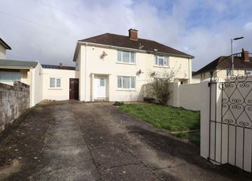 Thumbnail 2 bed semi-detached house for sale in Brewer Road, Barnstaple