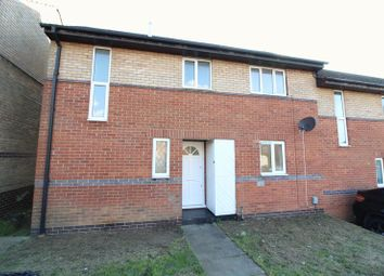 Thumbnail 2 bed end terrace house to rent in Heacham Close, Luton