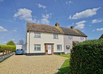 Thumbnail 4 bedroom semi-detached house for sale in Toll Bar, Great North Road, Sawtry, Huntingdon