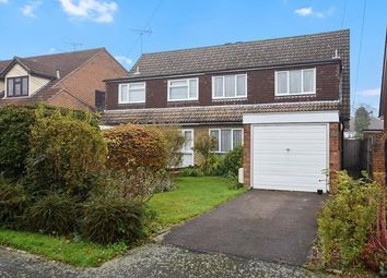 Thumbnail 4 bed semi-detached house for sale in Norsey View Drive, Billericay