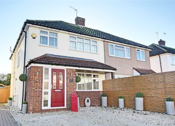 Thumbnail 3 bed semi-detached house for sale in Lodge Way, Shepperton, Surrey