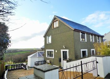 Thumbnail 4 bed detached house for sale in Nantyffnnon, Goodwick, Pembrokeshire
