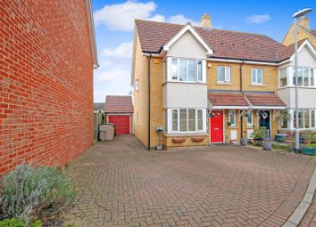 Thumbnail 4 bed semi-detached house for sale in Academy Drive, Dunton Fields, Laindon