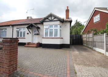 Thumbnail 2 bed semi-detached bungalow for sale in Bull Lane, Rayleigh