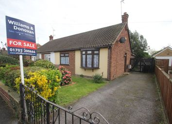 Thumbnail 2 bed semi-detached bungalow for sale in Ashcombe, Ashingdon, Rochford