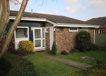 Thumbnail 1 bed semi-detached bungalow to rent in Ulcombe Gardens, Canterbury, Kent