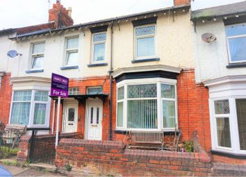 Thumbnail 3 bed terraced house for sale in St. Johns Avenue, Scarborough