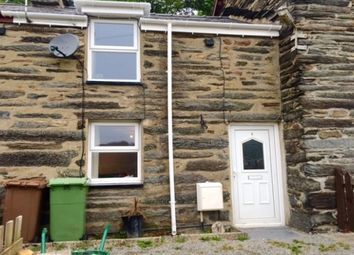 Thumbnail 2 bedroom terraced house to rent in Penrhyndeudraeth