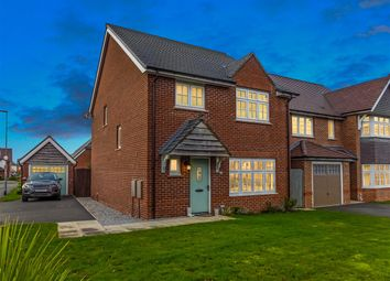 Thumbnail 4 bed detached house for sale in Whitley Drive, Buckshaw Village, Chorley