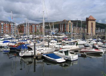 Thumbnail 1 bed property to rent in Ferrara Square, Maritime Quarter, Swansea