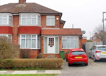 Thumbnail 3 bed semi-detached house for sale in Crowshott Avenue, Stanmore