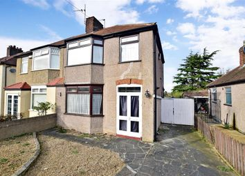 Thumbnail 3 bedroom semi-detached house for sale in Wilmot Road, Dartford, Kent