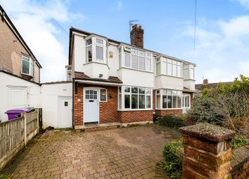 Thumbnail 3 bed semi-detached house for sale in Ashlar Road, Aigburth, Liverpool