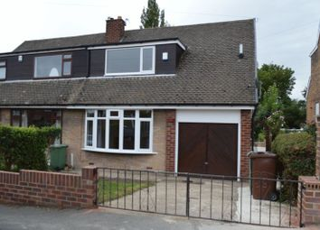 Thumbnail 3 bed semi-detached bungalow to rent in Woodend Crescent, Allerton Bywater, Castleford