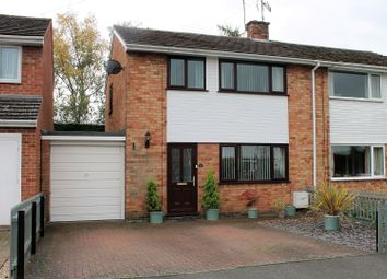 Thumbnail 3 bed semi-detached house for sale in Jacomb Close, Lower Broadheath, Worcester