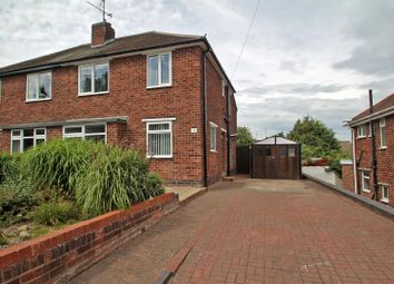 Thumbnail 3 bed semi-detached house for sale in Campbell Drive, Carlton, Nottingham