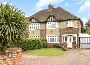 Thumbnail 3 bedroom semi-detached house for sale in London Road, Staines-Upon-Thames, Surrey