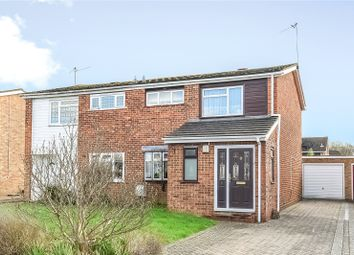 Thumbnail 3 bedroom semi-detached house to rent in Spruce Road, Woodley, Reading, Berkshire