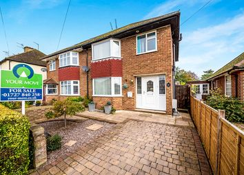 Thumbnail 3 bedroom semi-detached house for sale in Tollgate Road, Colney Heath, St. Albans