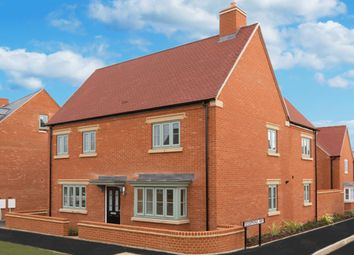 "Thumbnail 4 bed detached house for sale in ""Alnwick"" at Halse Road, Brackley"