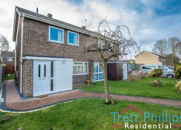 Thumbnail 3 bed semi-detached house for sale in Holly Court, Wymondham
